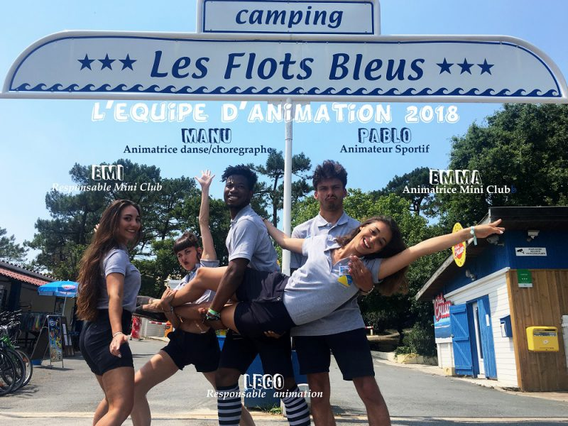 Animations Camping les Flots Bleus